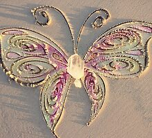 Crystal Sand Butterfly by CarlyMarie