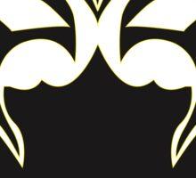 Yellow Mask Sticker