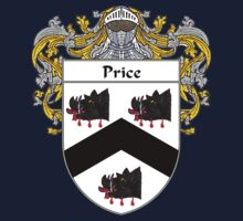 Price Welsh Coat of Arms / Price Welsh Family Crest One Piece - Long Sleeve