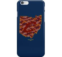 Cavs Finals Champs (Red Back) iPhone Case/Skin