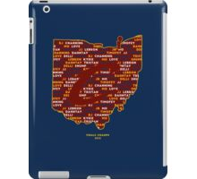 Cavs Finals Champs (Red Back) iPad Case/Skin