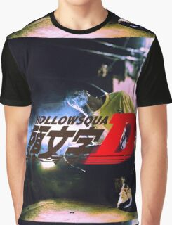 Xavier Wulf Hollow Squad Initial D Graphic T-Shirt