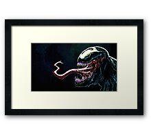 The Venom Framed Print