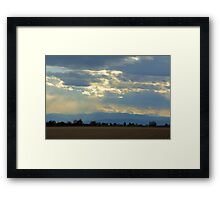 Mountain view Livermore Framed Print