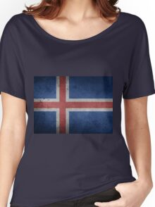 ICelanD Women's Relaxed Fit T-Shirt