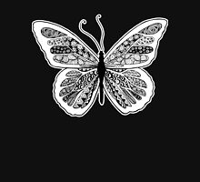 Tangled Butterfly Doodle Art Design Unisex T-Shirt