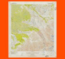 USGS TOPO Map Alaska AK Mount McKinley A-4 357761 1954 63360 Kids Tee