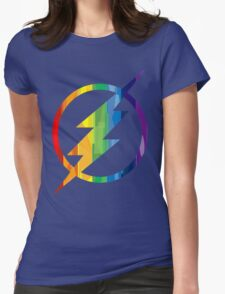 The Flash Pride Womens Fitted T-Shirt