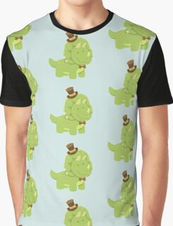 TriceraTop-Hat Graphic T-Shirt