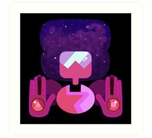 New Garnet - Nebula Art Print