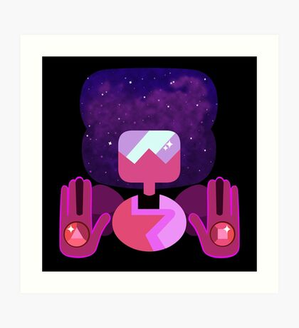 New Garnet - Nebula Art Print
