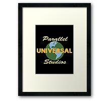 Parallel Universal Studios  Framed Print