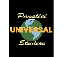 Parallel Universal Studios  Photographic Print