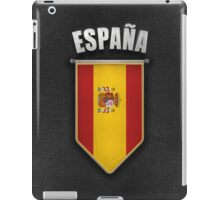 Spain Pennant with high quality leather look iPad Case/Skin