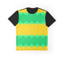 Brown pink blue shapes Graphic T-Shirt