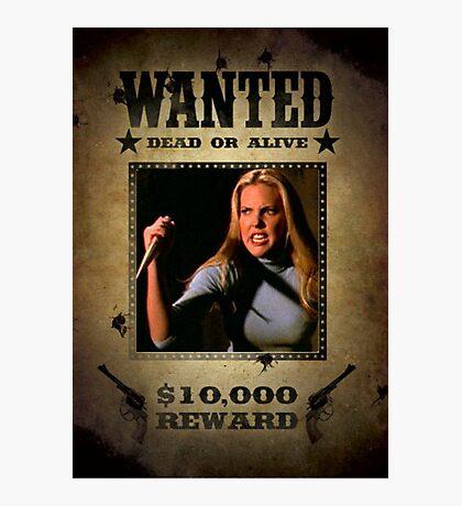 Buffy Harmony Wanted 2 Photographic Print