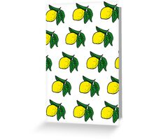 Lemons as they are Greeting Card
