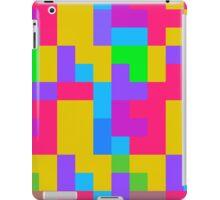 Colorful tetris shapes iPad Case/Skin