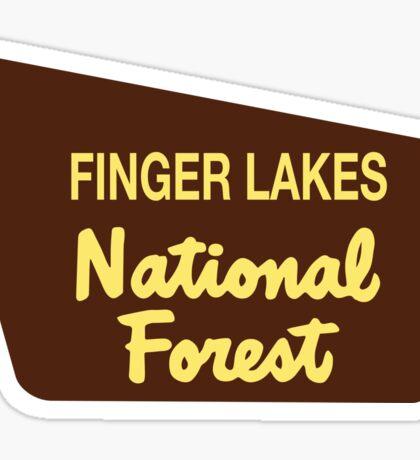 Finger Lakes National Forest Sticker
