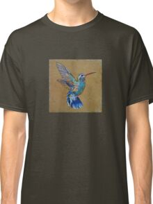 Turquoise Hummingbird Classic T-Shirt