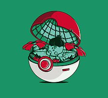 Green Pokehouse by Donnie Illustration