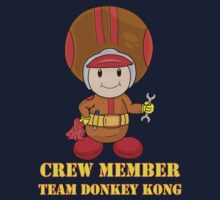 Team Donkey Kong crew member Kids Clothes