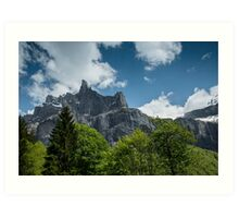The Peaks of Fer a Cheval Nature Reserve Art Print