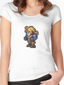 Ramza Beoulve sprite - FFRK - Final Fantasy Tactics (FFT) Women's Fitted Scoop T-Shirt