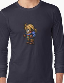 Ramza Beoulve sprite - FFRK - Final Fantasy Tactics (FFT) Long Sleeve T-Shirt