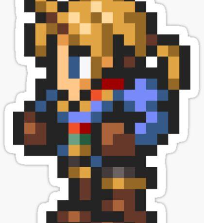 Ramza Beoulve sprite - FFRK - Final Fantasy Tactics (FFT) Sticker