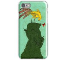 Mythical bird on Mountain top iPhone Case/Skin