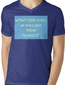 Words of Wisdom Mens V-Neck T-Shirt