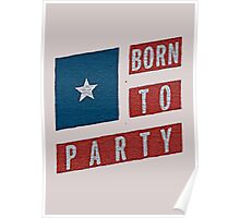 BORN TO PARTY Poster