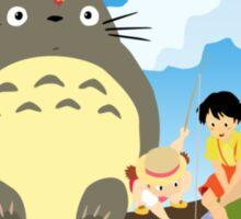 <TOTORO> Totoro Graphic Sticker