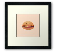Burger Buddy Framed Print