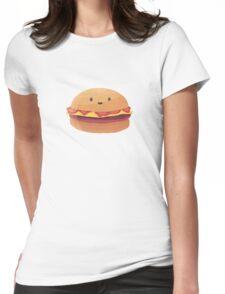 Burger Buddy Womens Fitted T-Shirt