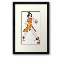 Mulan - tekken Framed Print