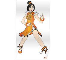 Mulan - tekken Poster