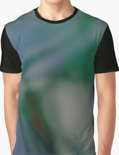Green and Blue abstract Graphic T-Shirt