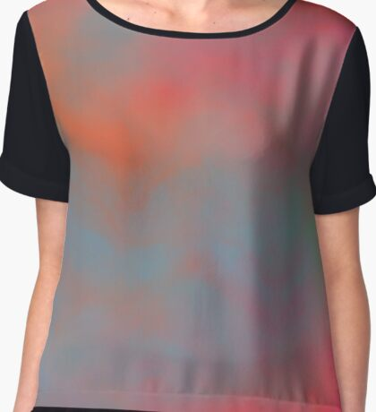 A Colorful Day Chiffon Top