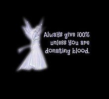 Always give 100%... by Scott Mitchell