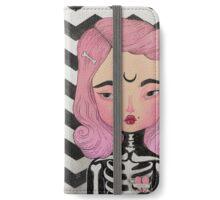 SKULLY ♡ KELLY iPhone Wallet/Case/Skin