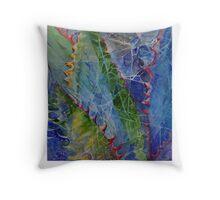 Web Among the Thorns Throw Pillow