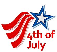 4'TH OF JULY Photographic Print