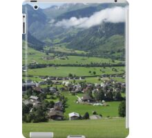 View Over Uttendorf, Salzburg Austria iPad Case/Skin