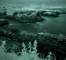 Stackpole Quay,Pembrokeshire,Infra Red by Mark Haynes Photography