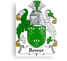 Bower Coat of Arms / Bower Family Crest Metal Print