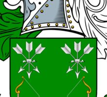 Bower Coat of Arms / Bower Family Crest Sticker