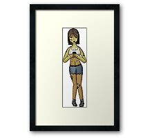 Modern Day Zombie Framed Print