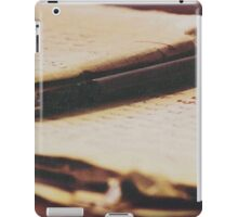 Spilled ink iPad Case/Skin